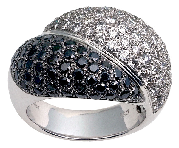 Jivan Fine Jewelry Black and White Diamonds